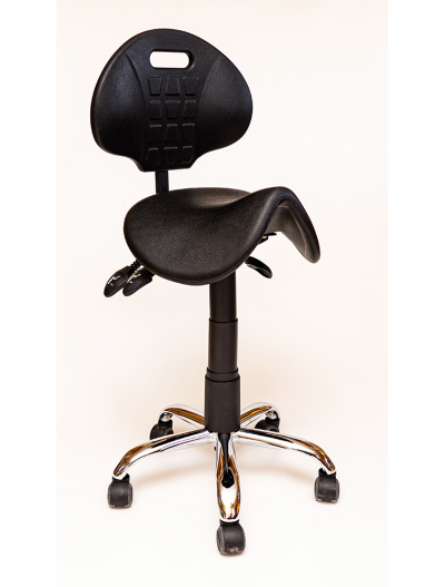 Saddle chair PU finish