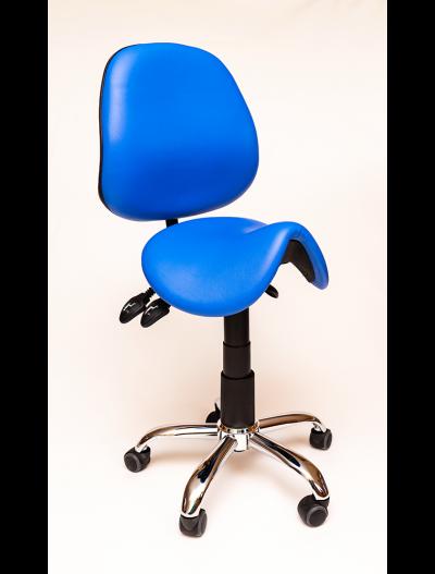 Saddle chair vinyl finish, Saddle Seats and Stools