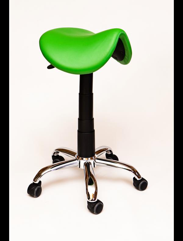Saddle chair without back vinyl finish, Saddle Seats and Stools