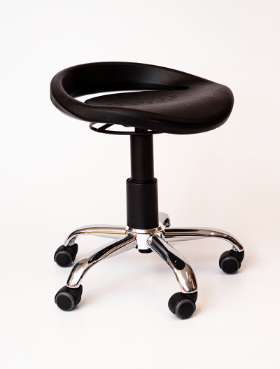 Stool with rear lip, Saddle Seats and Stools