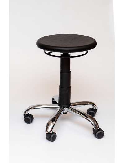 High and low adjustable stools