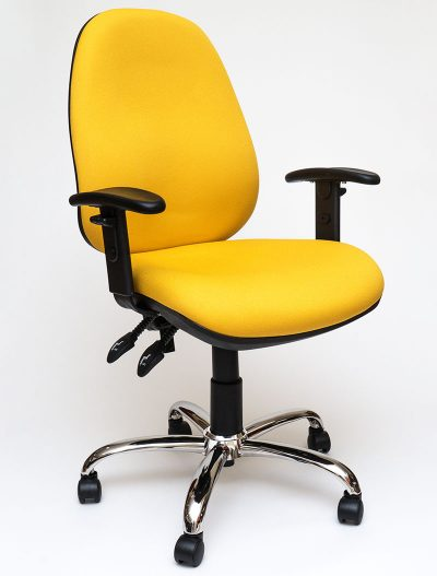 Operator 4A with adjustable arms - Yellow
