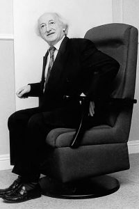 President Michael D-Higgins - Jacobsen Chairs