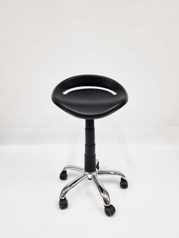 Sit-Stand Stool Front View